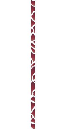 Каменный бордюр (художественный трафарет)