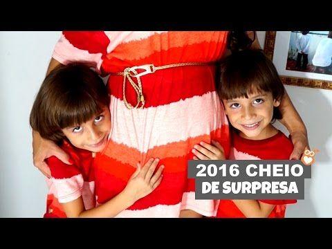 Anúncio de gravidez: 2016 Cheio de surpresa! » Gemelares