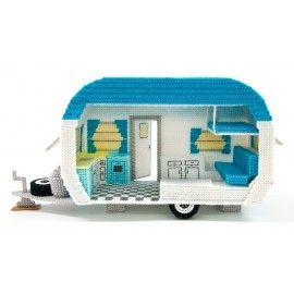 Mary Maxim - Retro Car and Camper Plastic Canvas Kits - Plastic Canvas Kits - Plastic Canvas - Crafts
