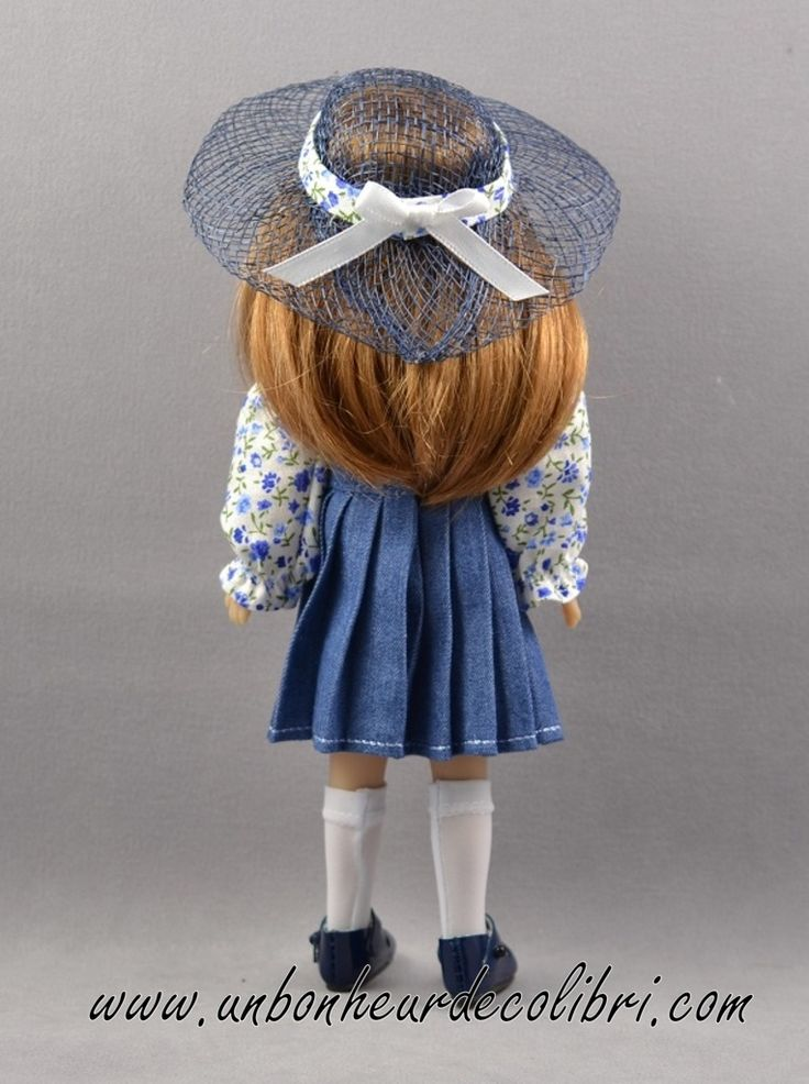 Poupée Eva Liberty Blue