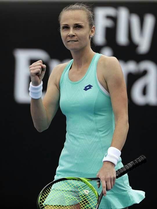 Magdaléna Rybáriková - osemfinále Australian Open 2018 v Melbourne