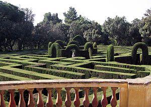 Parc del Laberint d'Horta, Barcelona. Labyrinth!!