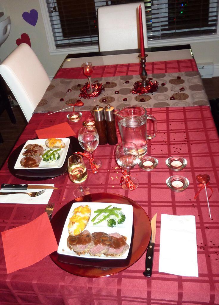 Déco de table St-Valentin 2012 JR