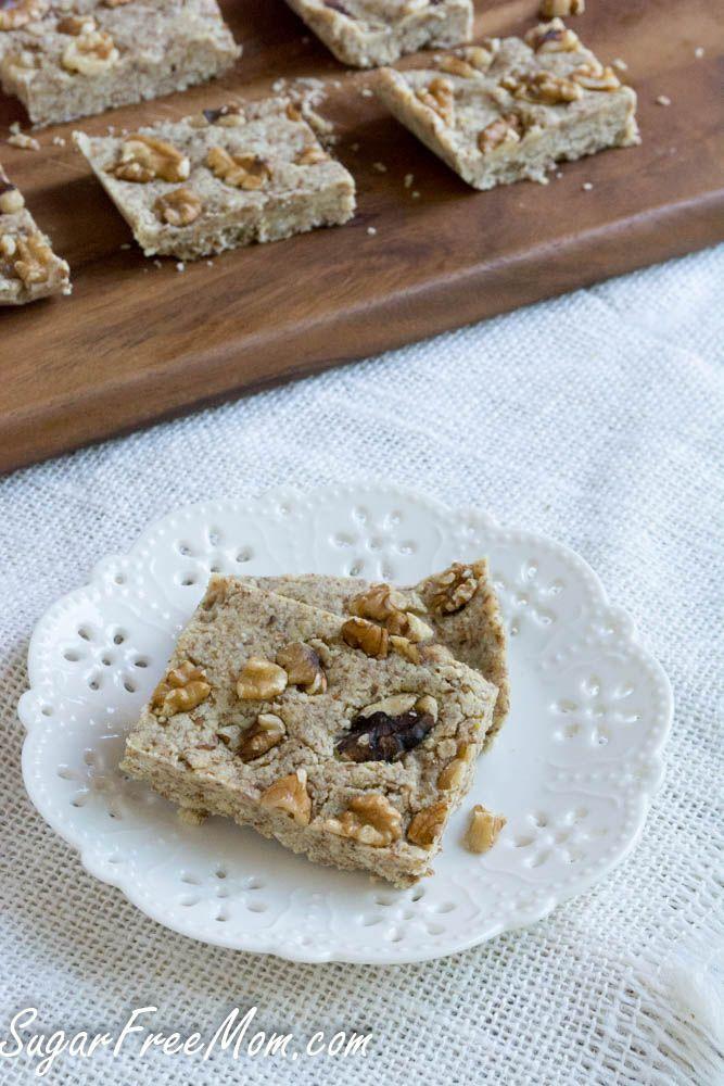 No Bake Maple Vanilla Fudge Protein Bars | Recipe ...