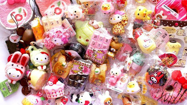 Biggest Squishy Collection Ever : 15 best Squishy Wish list images on Pinterest Kawaii stuff, Rilakkuma and Stress ball