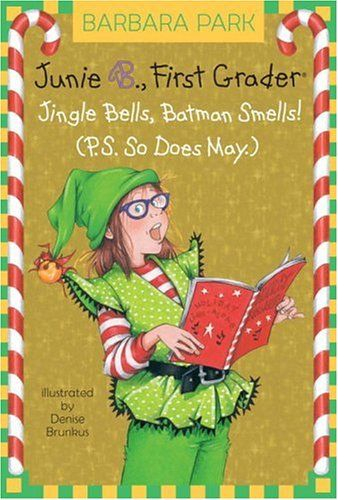 Junie B. Jones Christmas book. I laughed through the entire book! Plus I love singing! #BraxtonsBookBuzz