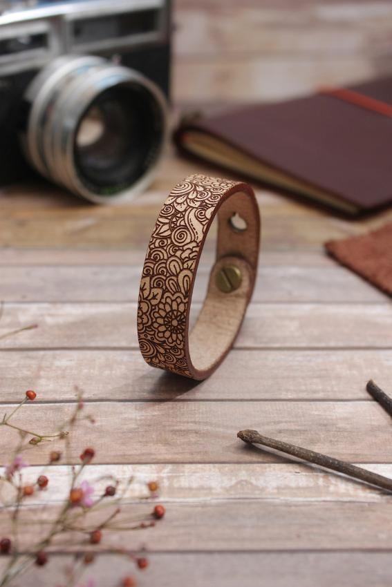 Gelang Kulit - SIGNET Leather Bracelet