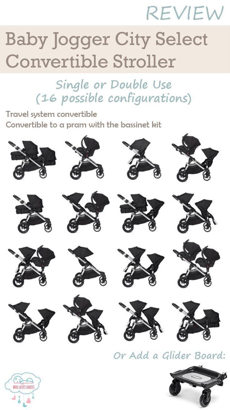 Looking for a stroller for your pair of twins or to accommodate a growing family of 2 kids within 2 years apart? Here's what We Like About The Baby Jogger City Select... It is a highly versatile, adaptable and convertible stroller that can be used either as a single or a double stroller. It has up to 16 configurations, can be used as a pram for newborns and is travel system adaptable.