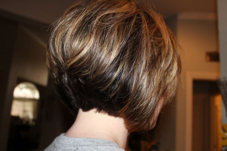 Hair Style Short Bob: Galleries Related: Inverted Bob Round Face , Super Stacked