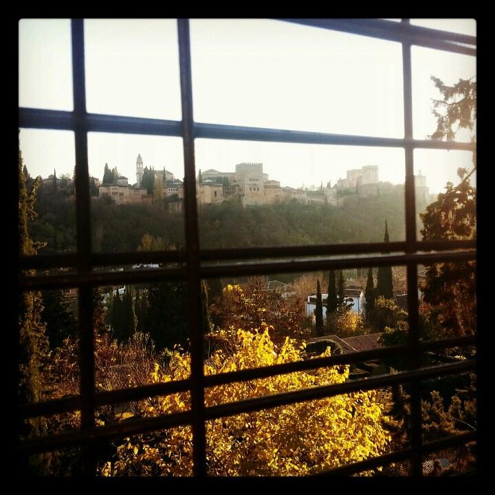 La Alhambra desde el Sacromonte. Granada.