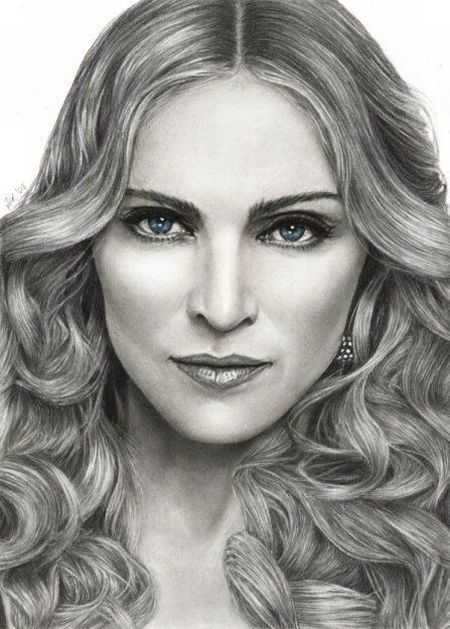 Famous female portrait artists great pencil drawings of famous people 39 photos
