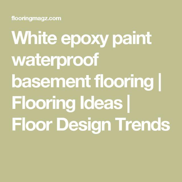 1000 Ideas About Basement Floor Paint On Pinterest: Best 25+ Epoxy Floor Basement Ideas On Pinterest