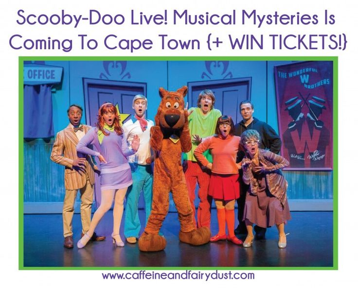 Scooby-Doo Live! Musical Mysteries Is Coming To Cape Town {+ WIN Tickets!} November 29, 2015 by Maz Leave a Comment (Edit)