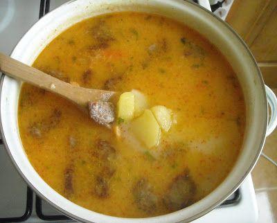 Makacska konyhája: Krumplileves füstölt kolbásszal