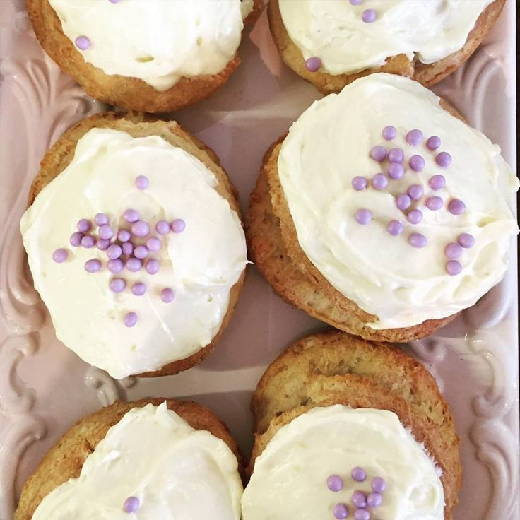 Citrus scones with cream cheese citrus icing. So good and flying out of the case this week!