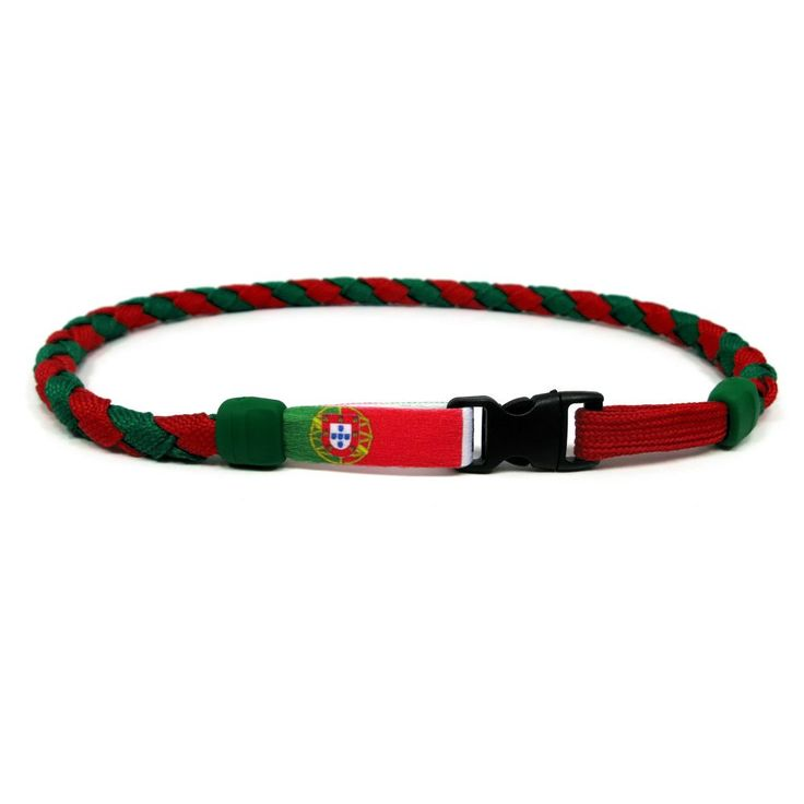 Portugal Soccer Nations Necklace by Swannys