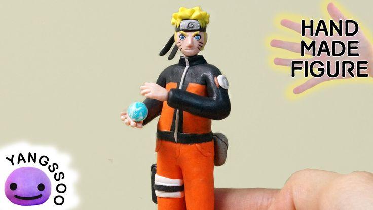 폴리머클레이로 나루토 만들기 [양쑤] Naruto Polymer Clay Tutorial