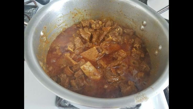 how to cook venison curry