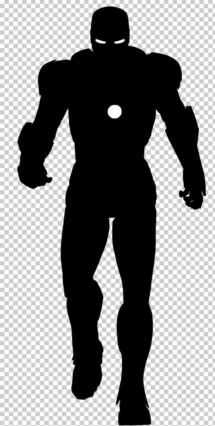 Iron Man Silhouette Superhero Png Avengers Black Black And White Comic Comics Iron Man Drawing Superhero Silhouette Iron Man Superhero