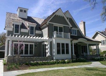 Beachwood Cabot Stain Fergon Architects, LLC - traditional - exterior - chicago - Fergon Architects, LLC