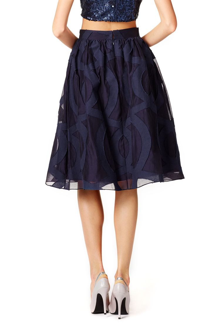 Starry Evening Skirt by Badgley Mischka for $60 | Rent the Runway