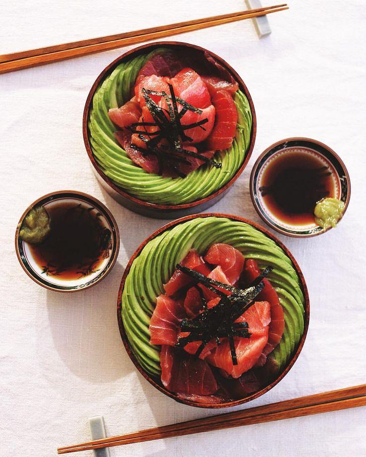 いいね!9,773件、コメント45件 ― Masaki Higuchiさん(@higuccini)のInstagramアカウント: 「Tuna Avocado Bowl . 今夜はマグロアボカド丼 アボガドの食べ頃の見極めバッチリで、ただいま8連勝中✌️ . #tuna #avocado #tunaavocadobowl…」