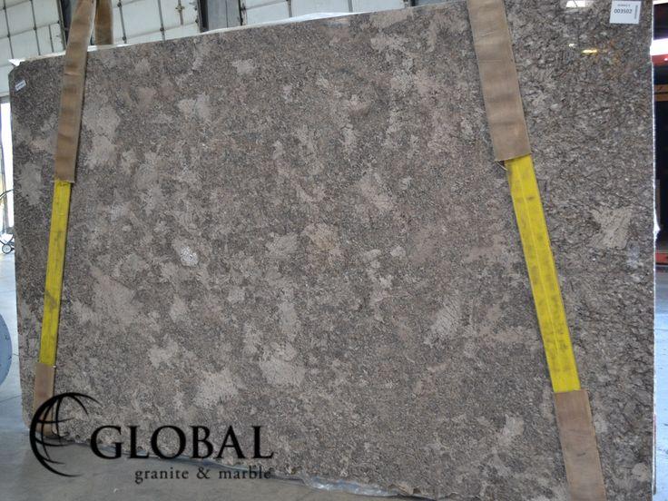 Pergaminho polished granite slab. Visit globalgranite.com for your natural stone needs.