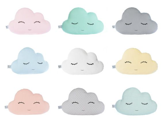 Cloud Pillow Baby Pillow Cloud Cushion Kids Throw Pillow