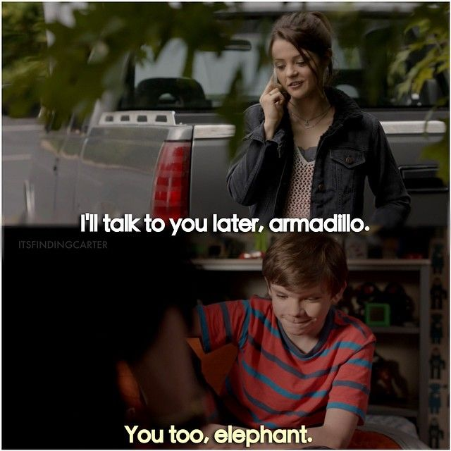 """#FindingCarter 1x10 """"Love Story"""" - Carter and Grant"""