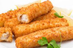 Fatto in casa: Ricetta per i bastoncini di pesce. Sani, nutrienti...