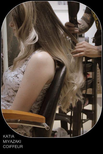 Katia Miyazaki Coiffeur - Salão de Beleza em Floripa: ombre hair - ombre platinada - cabelo platinado - ...