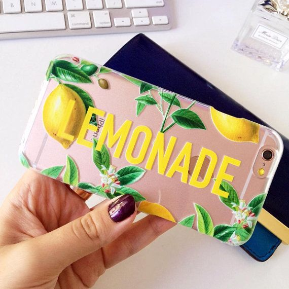 TRANSPARENT LEMONADE PHONE CASE  Soft Gel Cases  Our gel cases are made of high quality, strong material. The best thing about these cases is that they cannot break. If you tend to drop your phone from time to time we definitely recommend you this kind of case, it protects all edges of your phone and as we mentioned before the case cannot break. If you worry about having problems accessing the buttons of your phone, then we have good news for you. Unlike most gel cases our cases don't cover…