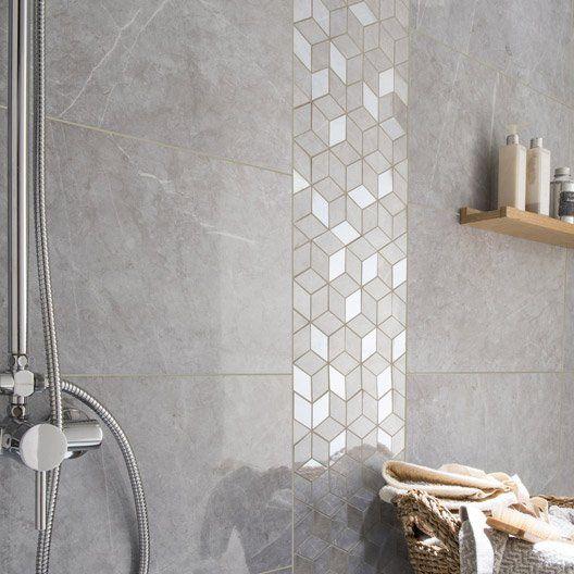 les 25 meilleures idées de la catégorie salle de bain faïence ... - Faience Grise Salle De Bain