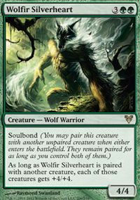 Wolfir Silverheart, Magic, Avacyn Restored