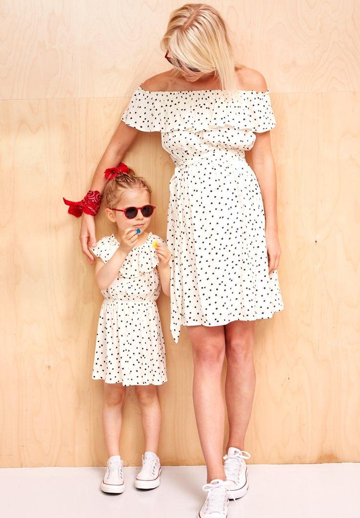 Robe assortie mère/fille : Laure - Robe Maman - Envie de Fraise