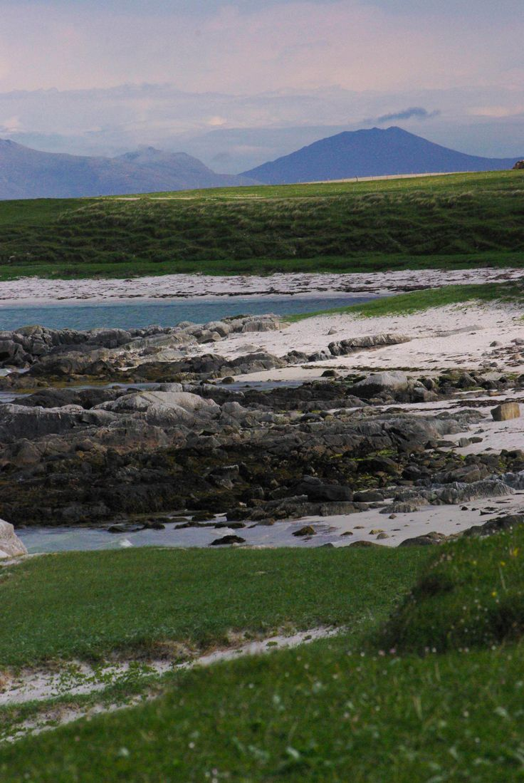 Looking up to South Uist