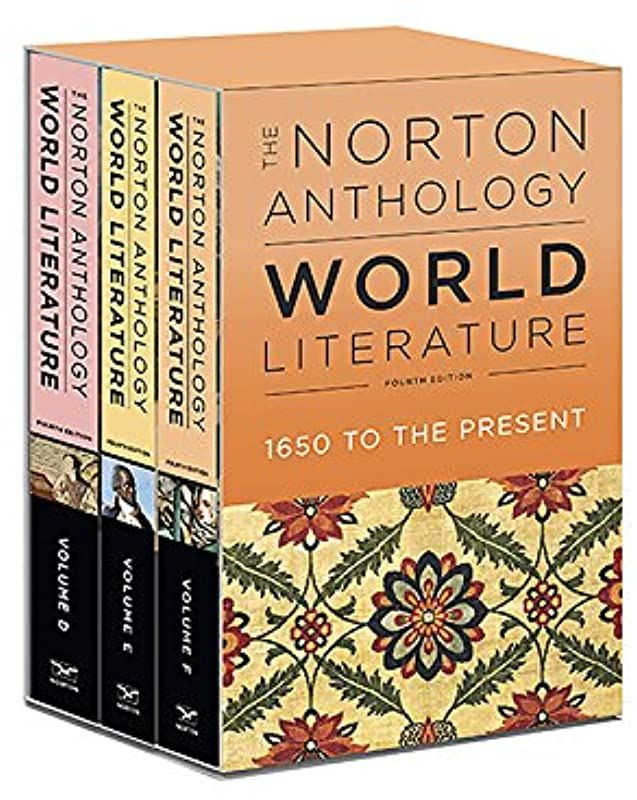 Free Read The Norton Anthology Of World Literature Fourth Edition Vol Package 2 Volumes D E F Norton Anthology Ebook Pdf Ebook Pdf Book