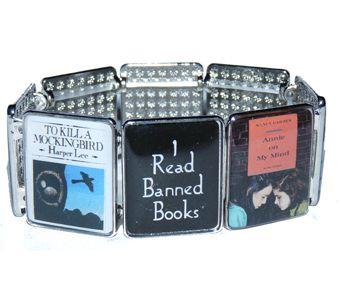 Banned Books Bracelet