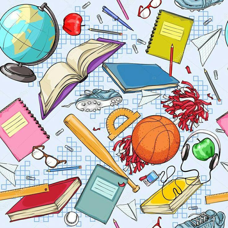 скрап картинки про школу послужит двусторонний картон