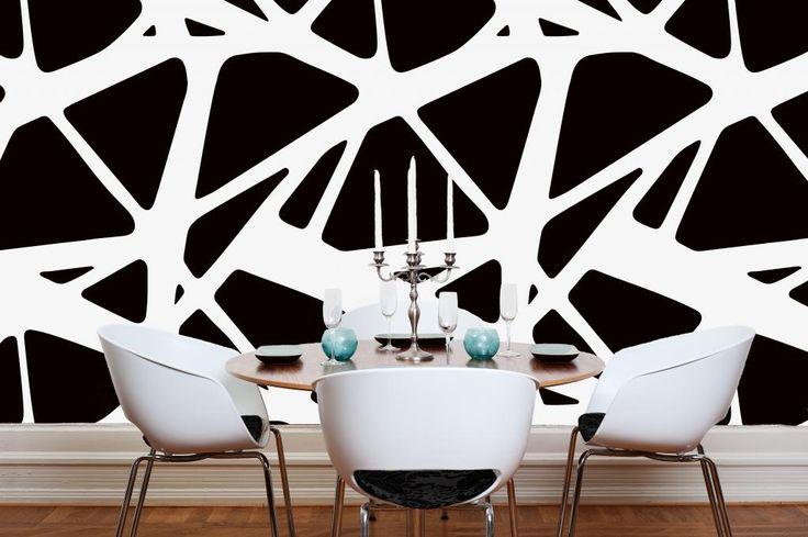 Tapet PLATONIC by Sandgren design for DesignM Collection. Www.designmaklarna.se