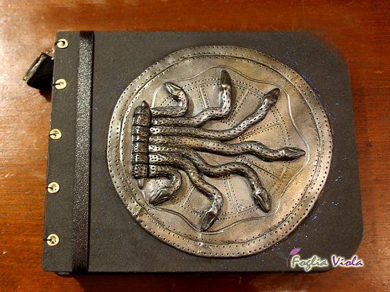 Harry Potter kamer van geheimen Harry Potter Zwadderich deur Snake Gruzielement Journal collectie Griffoendor basilisk OOAK