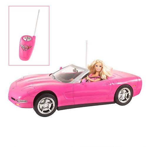 "Barbie KidPicks Remote Control Corvette and Barbie Doll - Mattel - Toys ""R"" Us has all Barbie 50% till midnight! Harper will love this!"