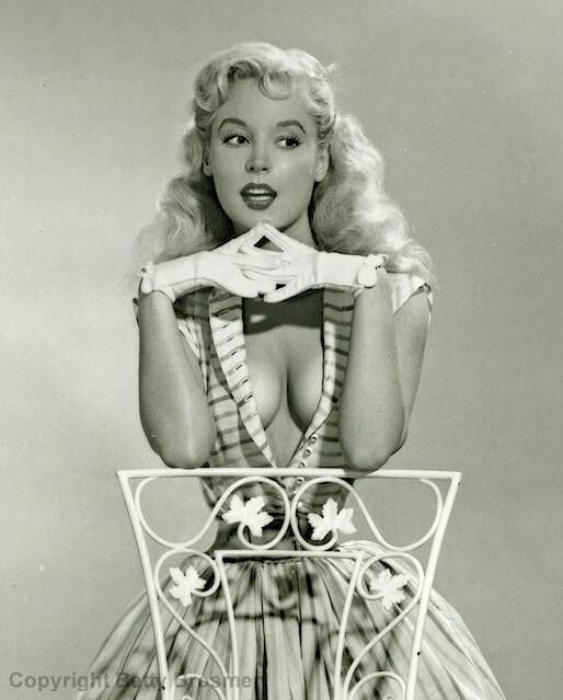 50's - Betty Brosmer - supermodel and author