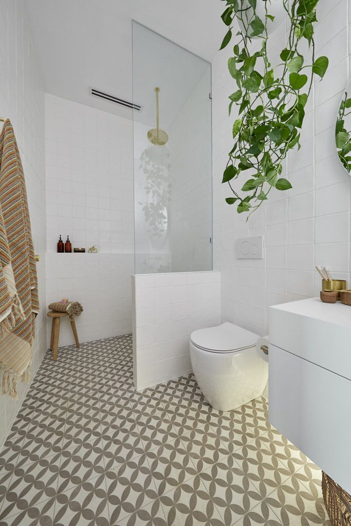 The Block 2019 Week 2 Ensuite Bathroom Reveals The Interiors Addict Bathroom Renovation Designs Small Bathroom Ensuite Bathroom