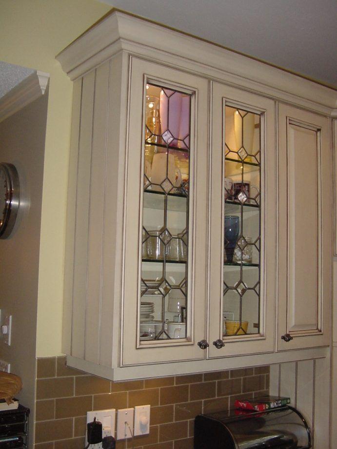 Repurposed leaded glass
