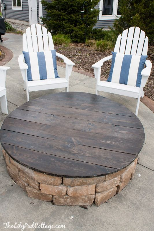 115 best images about fire pits on pinterest disposable - Build your own outdoor fireplace ...