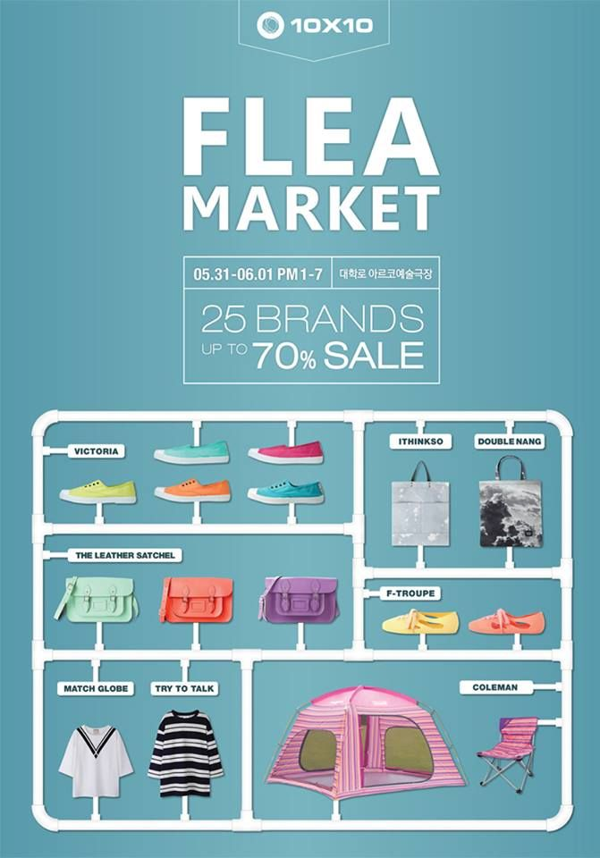 FLEA MARKET With 10X10 | Nice Life with ithinkso