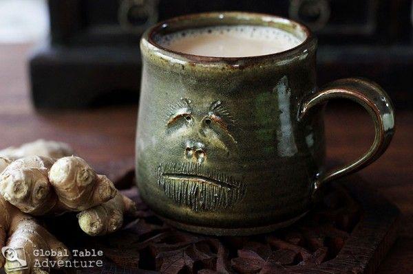 Swahili Ginger n' Milk Tea | Recipe