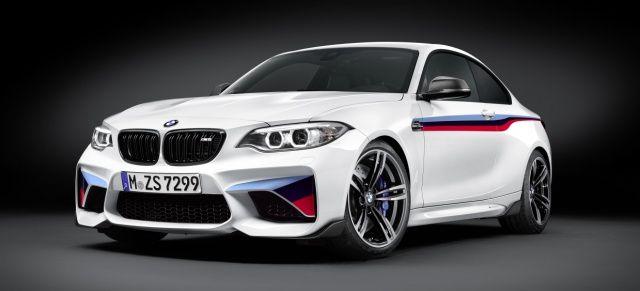 Hat es eigentlich nicht nötig....: M-Performance-Teile fürs BMW M2 Coupé