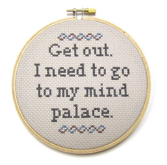 If people keep bugging you when youre trying to concentrate and get work done, perhaps you need to take a page out of Sherlock Holmes book and get this little number. Hang it up at the office or above your desk at home to let people know you want to be left alone. We all need to retreat into our mind palaces once in a while.